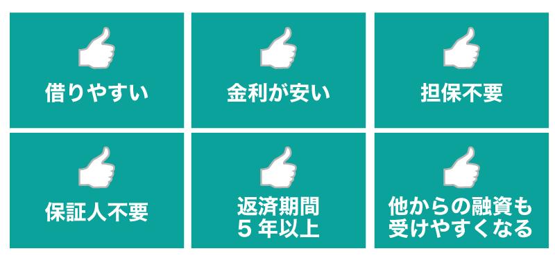 日本政策金融公庫での融資をおすすめするポイント