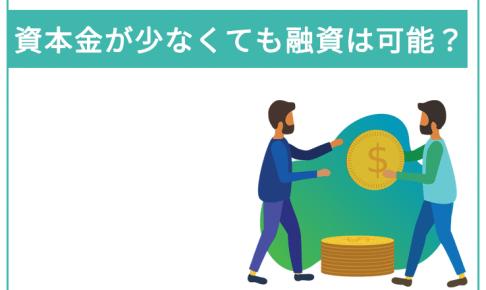 資本金が少なくても日本政策金融公庫で融資は可能なのか?