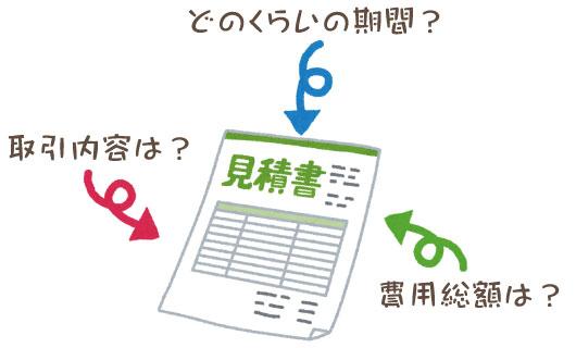 見積書とは 正しい書き方のポイントを解説