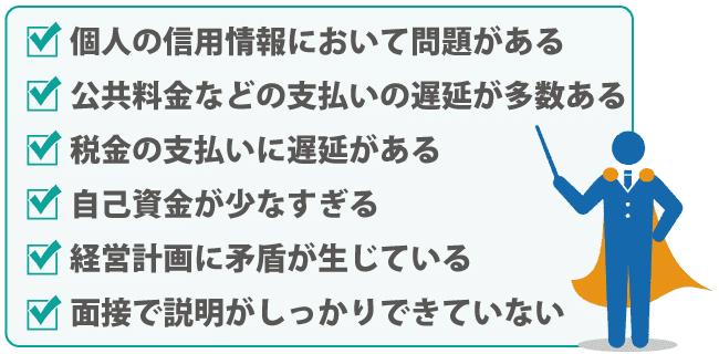 日本政策金融公庫の融資!審査に通るための審査基準をチェック!
